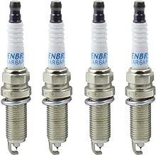 Henbrs Iridium Spark Plug High Performance Replacement 22401-ED815 LZKAR6AP-11 For Nissan Micra March Tiida X-Trail Pack of 4