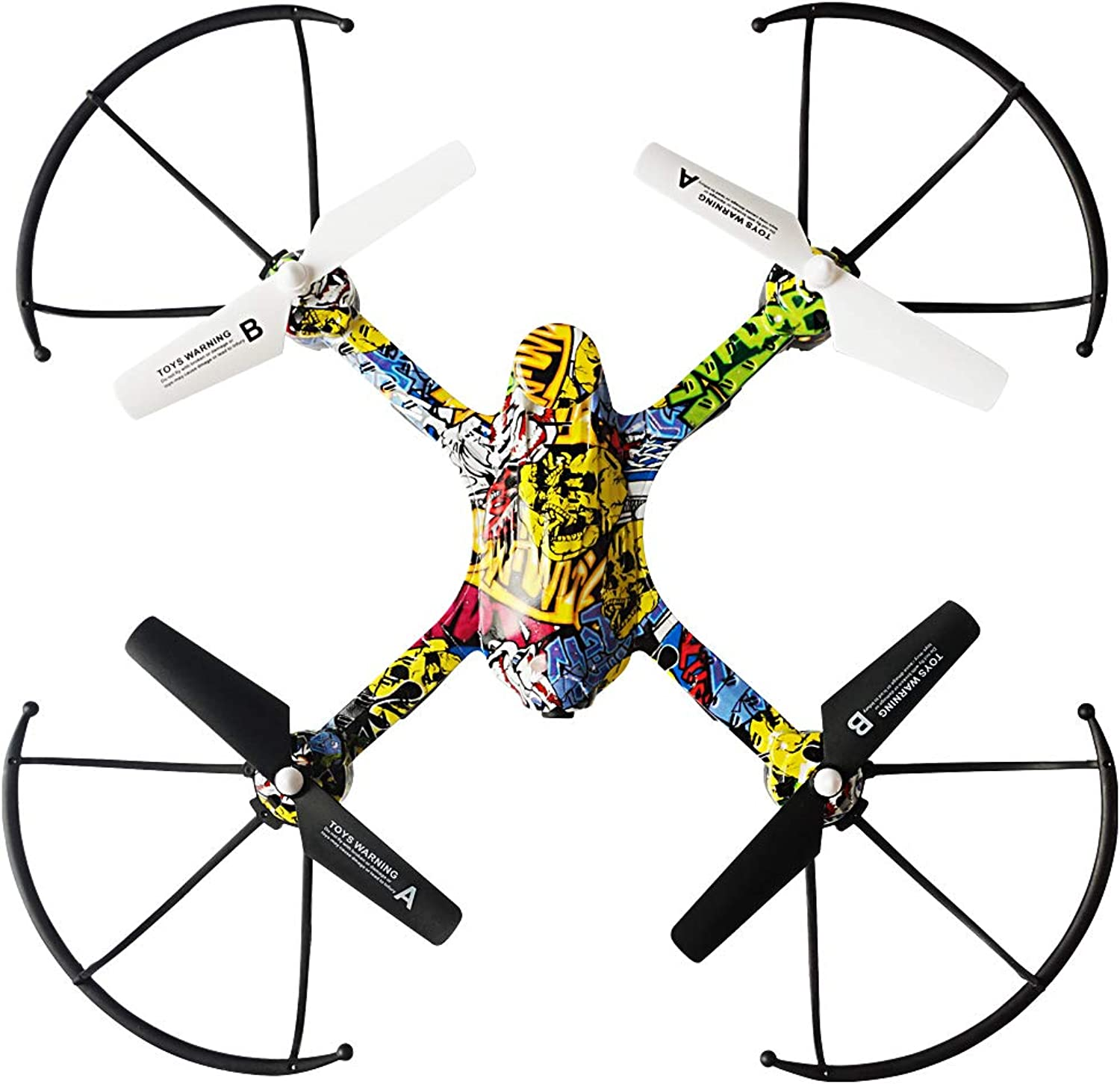 HAHA Antifall Drone with HD Camera Live Video, Foldable Quadcopter with Adjustable Wide Angle Camera, Follow Me, Headless Mode, Long Flying Time, Selfie Drone