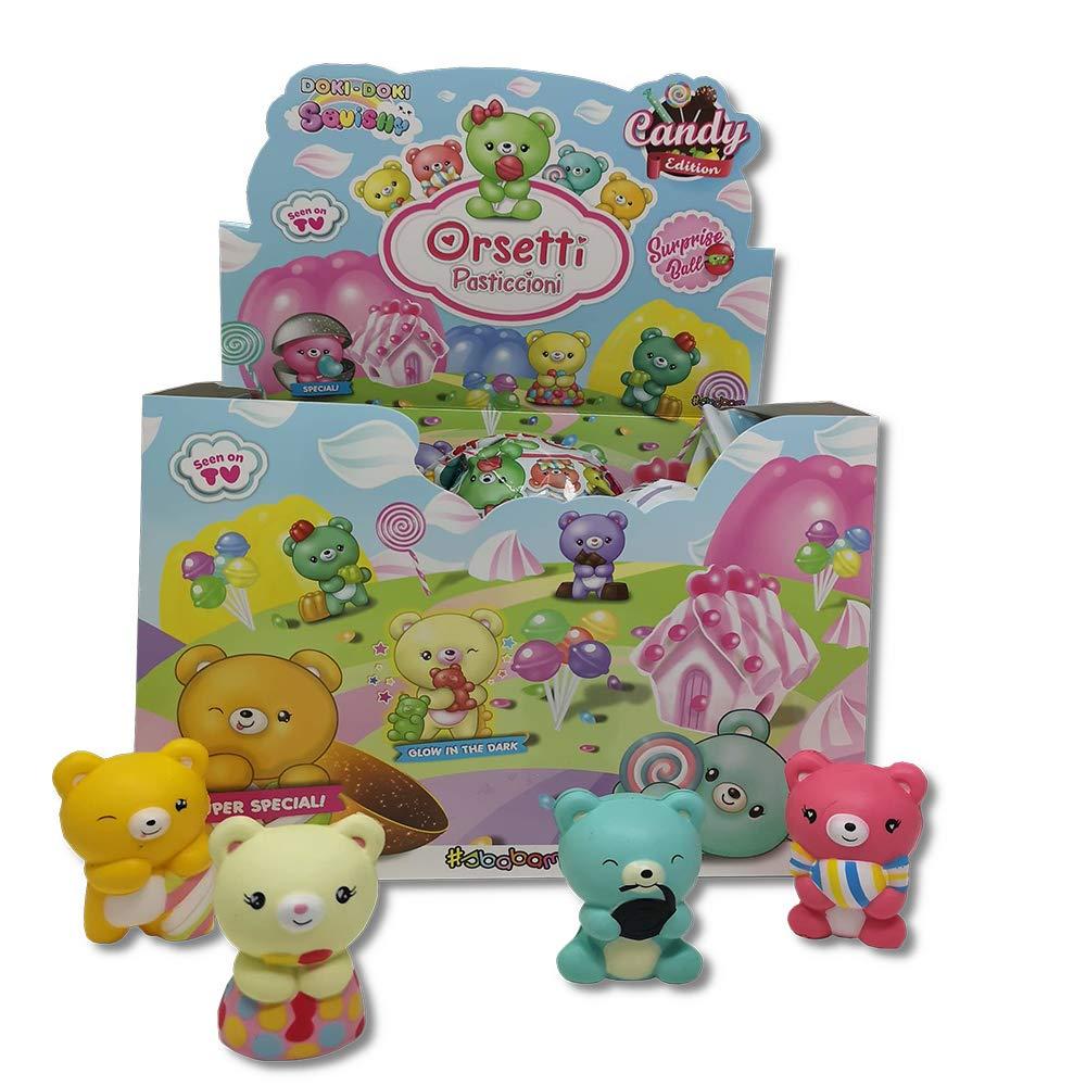 SBABAM- Osos pasticcioni Candy-Pack de 3 unidades Squishy ...