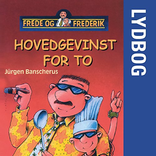 Hovedgevinst for to audiobook cover art