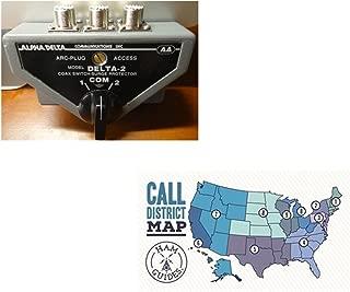 Bundle - 2 Items - Alpha Delta 2-Position, SO-239, 500Mhz and Ham Guides TM Pocket Reference Card