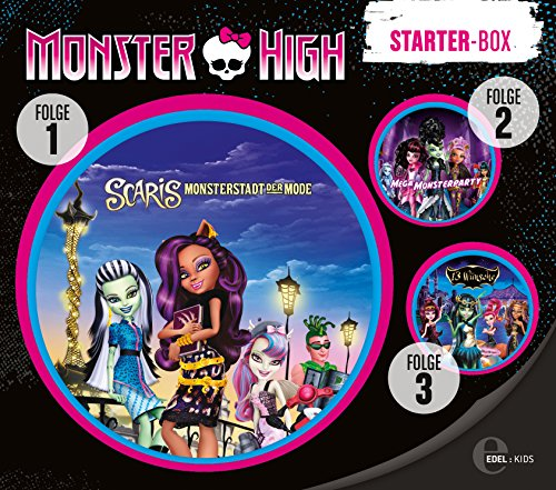 Monster High - Starter Box (Folge 1-3)