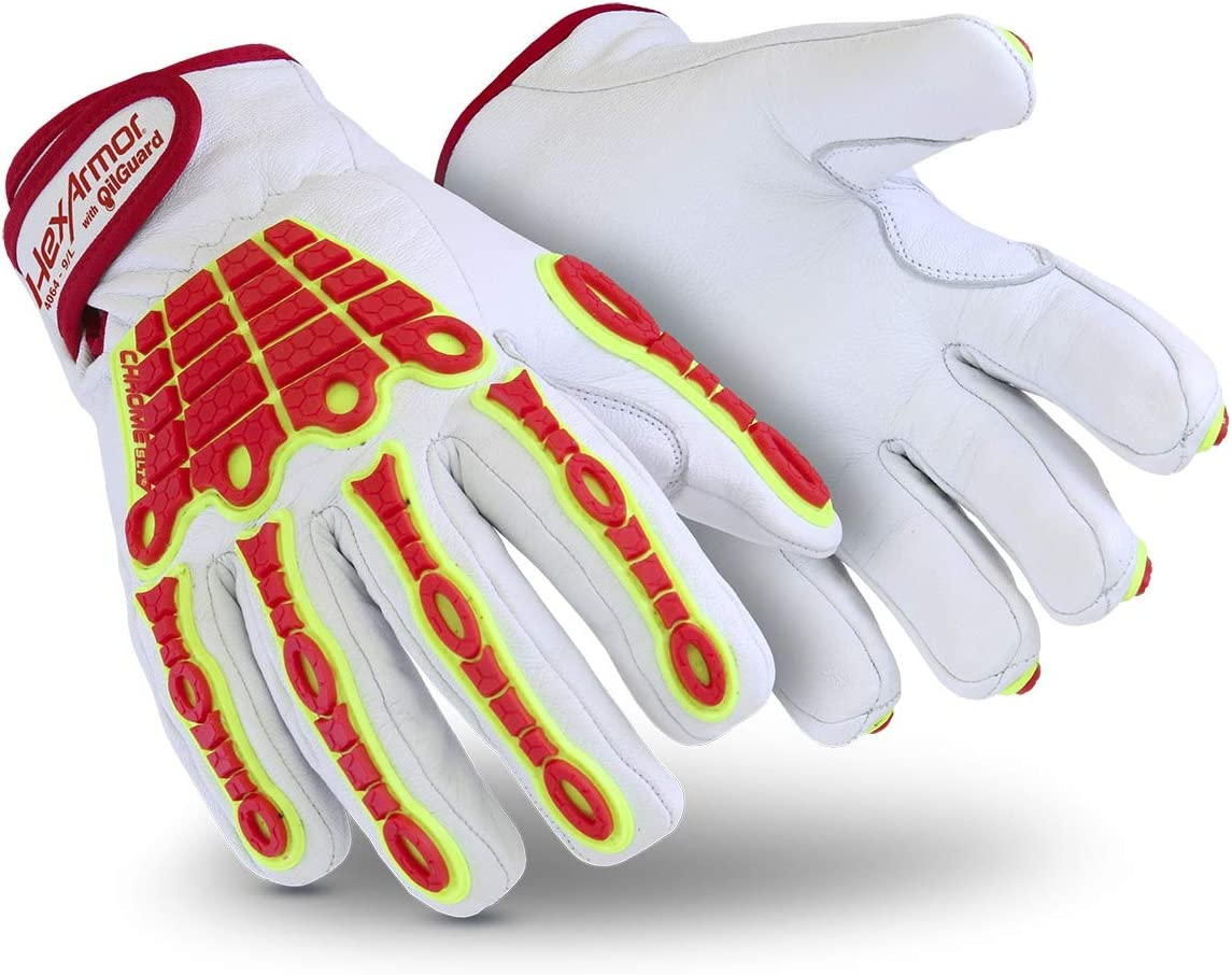 HexArmor Chrome SLT Minneapolis Mall In a popularity 4064 Cold Weather Gloves I Work Leather with
