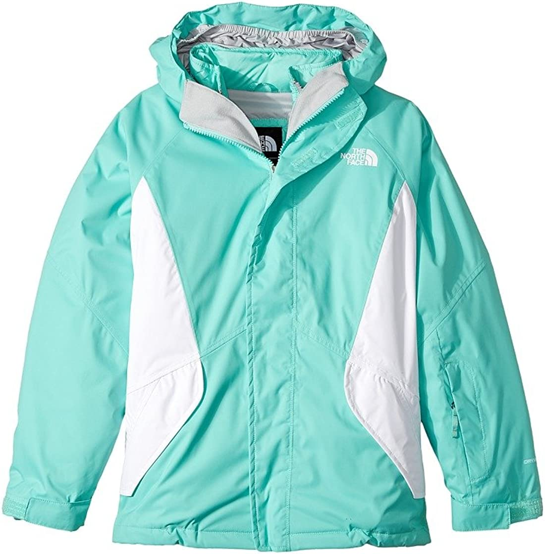 The North Face specialty shop Youth Girl's Bermuda Kira Green Max 55% OFF Jacket TriClimate