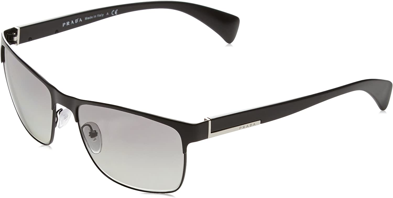 Prada Sunglasses - PR51OS / Frame: Matte Black Lens: Grey Gradient,58mm