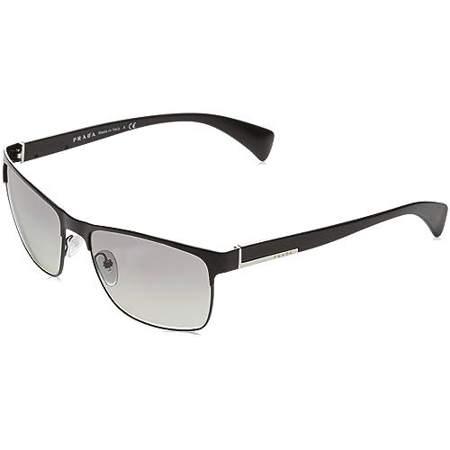 bea02f65f51f Prada Sunglasses - PR51OS   Frame  Matte Black Lens  Grey Gradient
