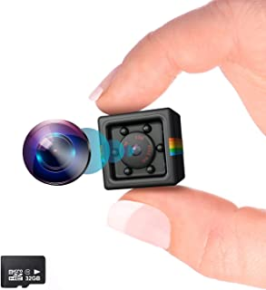 Kolaura Hidden Wireless Mini Camera with Night Vision and Motion Detection Full HD1080P Rechargeable Portable Small Wirele...