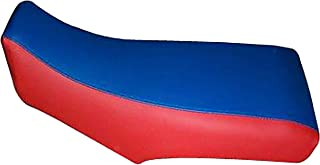 Trotzen Seat Cover Compatible With Honda ATC 250R 83-84 Blue and Red Seat Cover