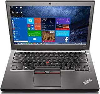 Renewed laptop thinkpad X250 12.5-inch Intel Core i5-5200U 2.2GHz 4GB RAM 500GB HDD with activated microsoft office and Wi...