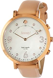 Kate Spade New York Women's Digital Watch smart Display and Leather Strap KST23211