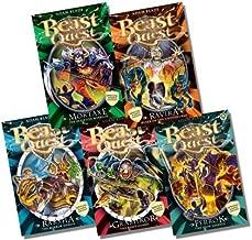 Beast Quest Second Special Bumper Collection - 5 Books RRP £29.95 (Mortaxe the Skeleton Warrior; Ravira Ruler of the Underworld; Raksha the Mirror Demon; Grashkor the Beast Guard; Ferrok the Iron Soldier)