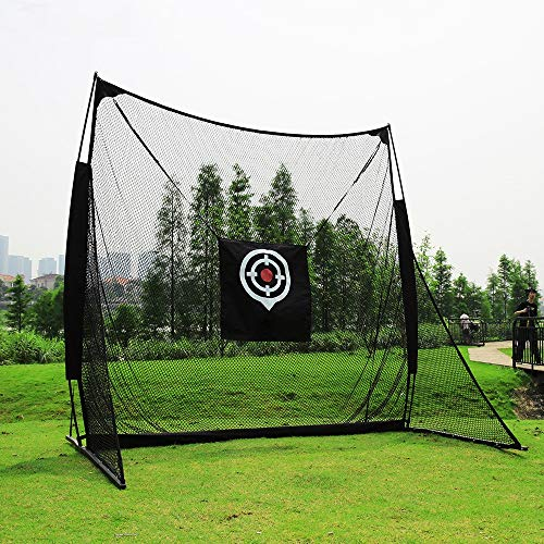 Great Deal! Durable Net and Mat Golf Practice Net Swing Practice Net Anti-Play Golf Practice Cutter ...