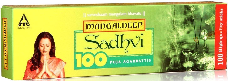 苦しめる削減見かけ上Mangaldeep Sadhvi 100供養Incense Stick