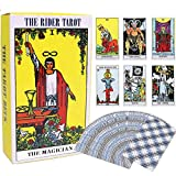 ★【TAROT】--- Welcome to the world of Tarot, Tarot consists of 22 major and 56 minor Arcana.Tarot is a way of presenting Tarot thoughts,and one of the tools to use Tarot thoughts to consult and forecast. ★【LONG HISTORY】--- Tarot Card is an ancient West...
