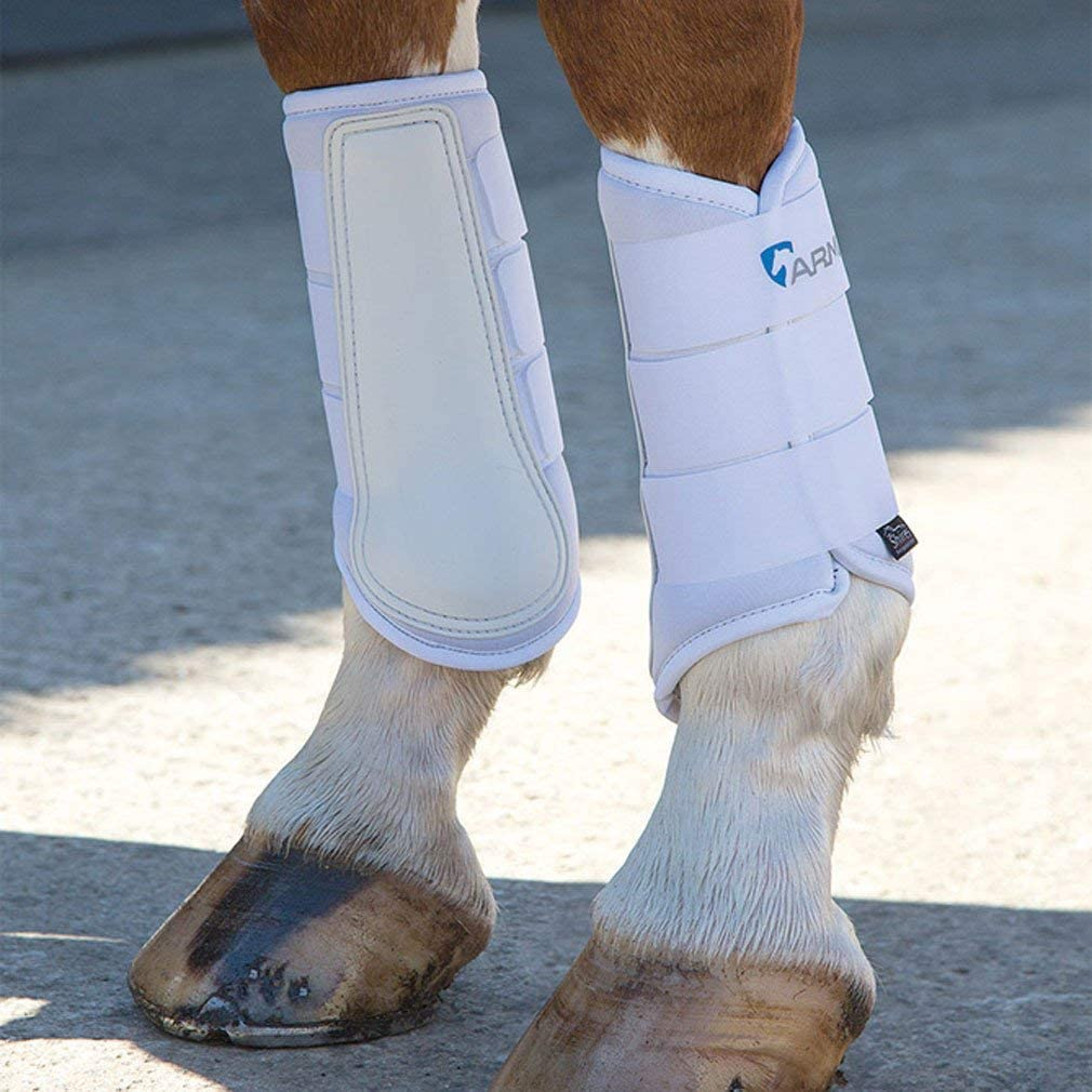 Shires Arma Neoprene Pony//Horse Brushing Boots Black