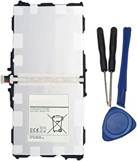 Civhomy P601 Battery Replacement For Samsung Galaxy Tab Pro 10.1 SM-T520 T525 T8200K T8220E AA1DA04WS/7-B AA1DA2WS/7-B AAAD828OS/T-B GH43-03998A P11G2J-01-S01 with tools