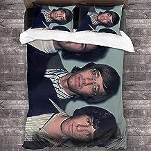 Parure de lit 3D avec Housse de Couette et taie d'oreiller Parure de lit avec Housse de Couette en Musique Taille (220x240...