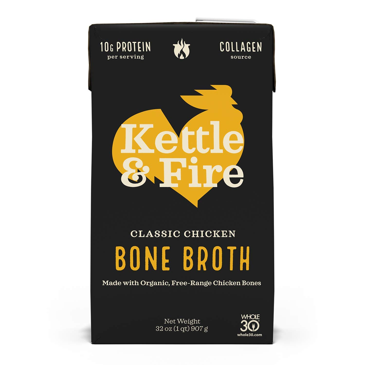 KETTLE FIRE Classic Reservation Chicken Max 87% OFF OZ Broth 32 Bone