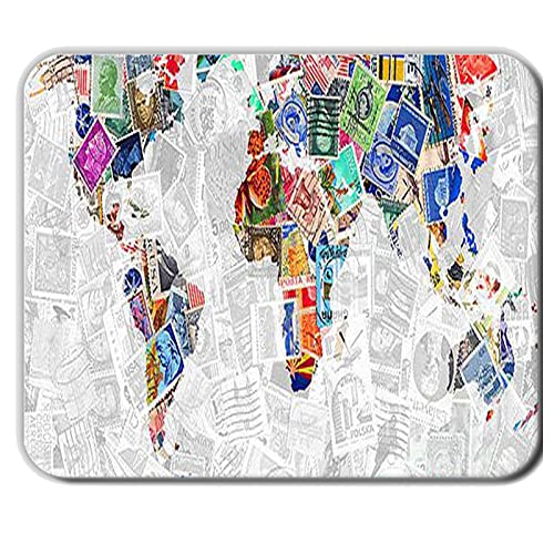 Have with World Map Compatible para Mousemats 240Mmx200Mmx2Mm para Niños Silicona Original
