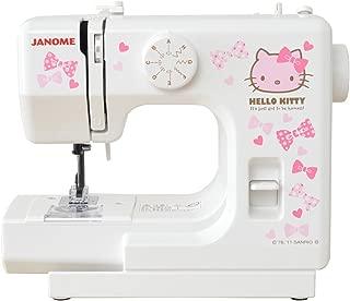 Janome [Hello Kitty] compact white sewing machine KT-W