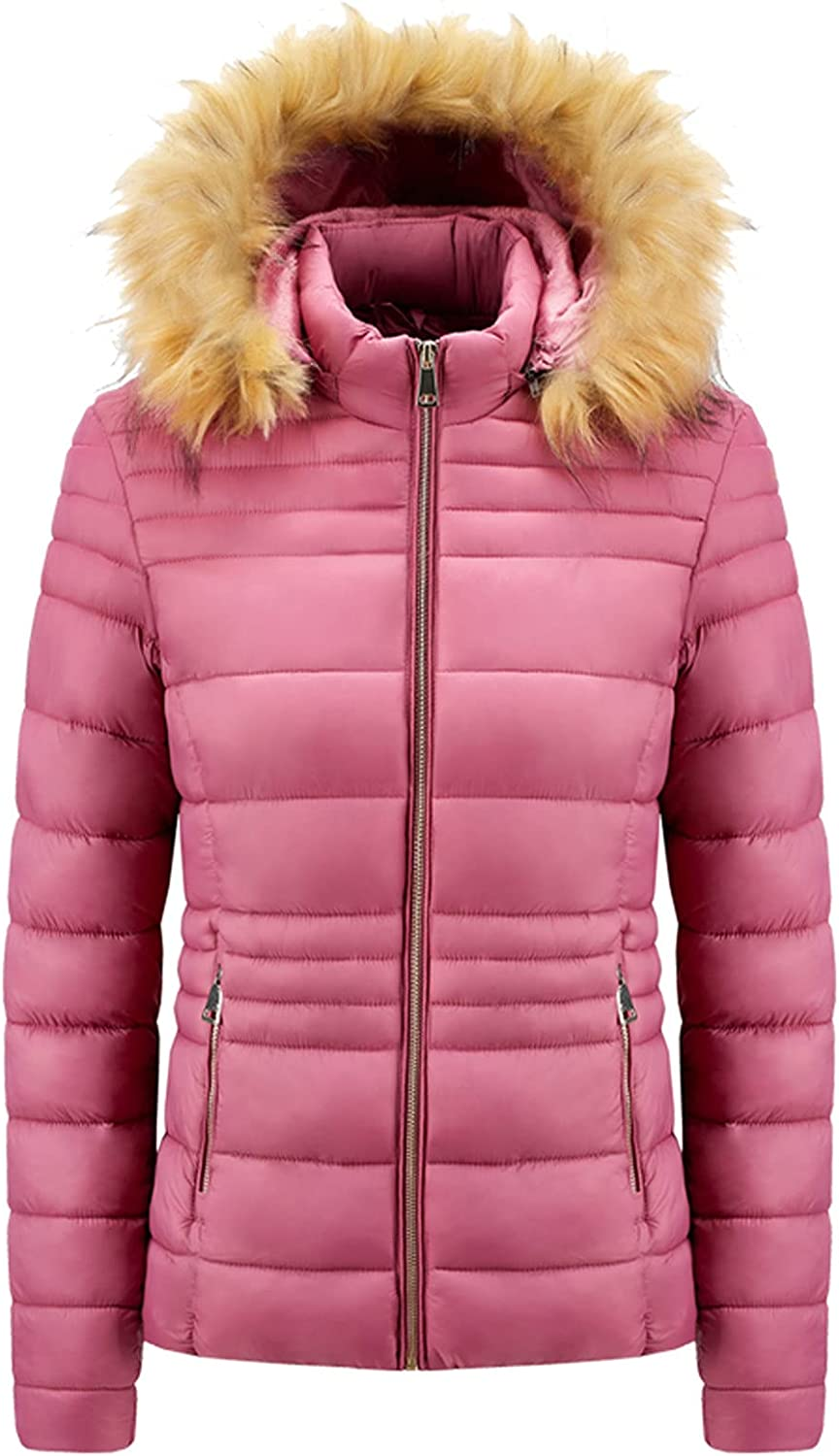 Down Jackets for Women Winter Cheap super special price Warm Coat Fit Quilted Indianapolis Mall Puffer Slim