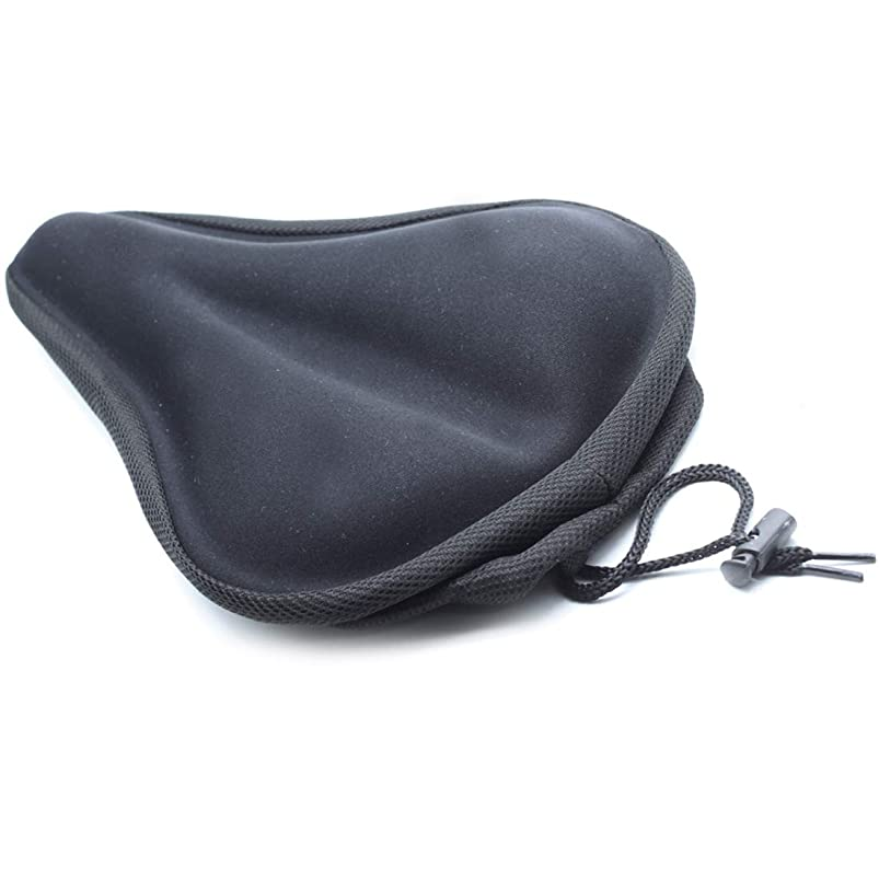 AUTUT Soft Gel Silicone Bike Seat Saddle Pad Cushion Cover for Mountain Bike Bicycle emlogszf130137