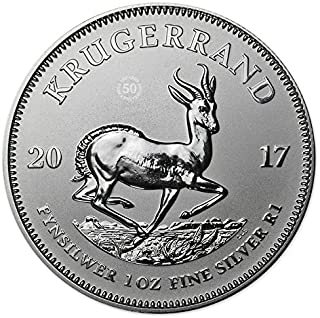 2017 Silver Krugerrand (1 oz) South African Mint Premium Uncirculated