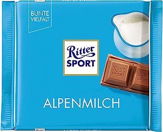 Ritter Sport瑞特运动 巧克力(阿尔卑斯山)100g(德国进口)