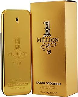 1 میلیون FOR MEN توسط Paco Rabanne - 3.4 oz اسپری EDT اسپری