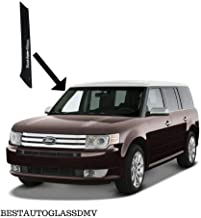 NAGD Compatible with 2009-2018 Ford Flex Windshield-Outer Pillar Trim Molding Passenger (R) Sides