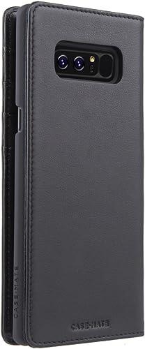 lowest Case-Mate Note 8 Case - WALLET FOLIO - Black sale - Real Leather online - Slim Design for Samsung Galaxy Note 8 - Black online sale