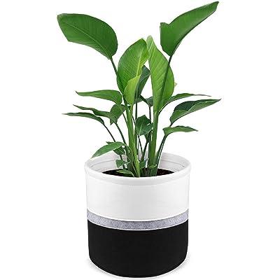 """12"""" Felt Plant Basket Pot for 8"""" to 10"""" Plant P..."""