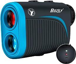 Bozily Golf Rangefinder، 6X قابل شارژ لیزر دامنه یاب 1200 متری با تنظیم شیب ، قفل پرچم ، شیب روشن / خاموش ، 4 حالت اسکن ، پشتیبانی از اسکن مداوم - Rangefinder Legal Golf Rangefinder