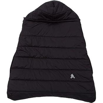 日本育児 3wayコンフィケープ ブラック 軽くて暖かいお手入れ簡単のケープ