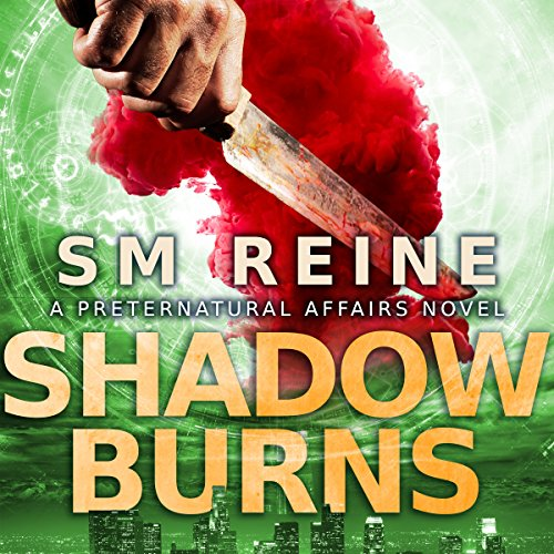 Shadow Burns audiobook cover art