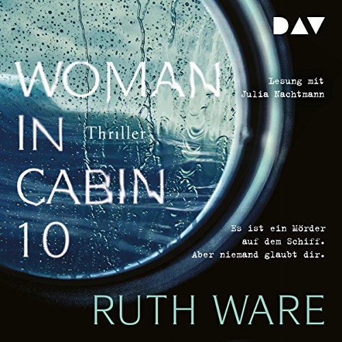 Woman in Cabin 10 audiobook cover art