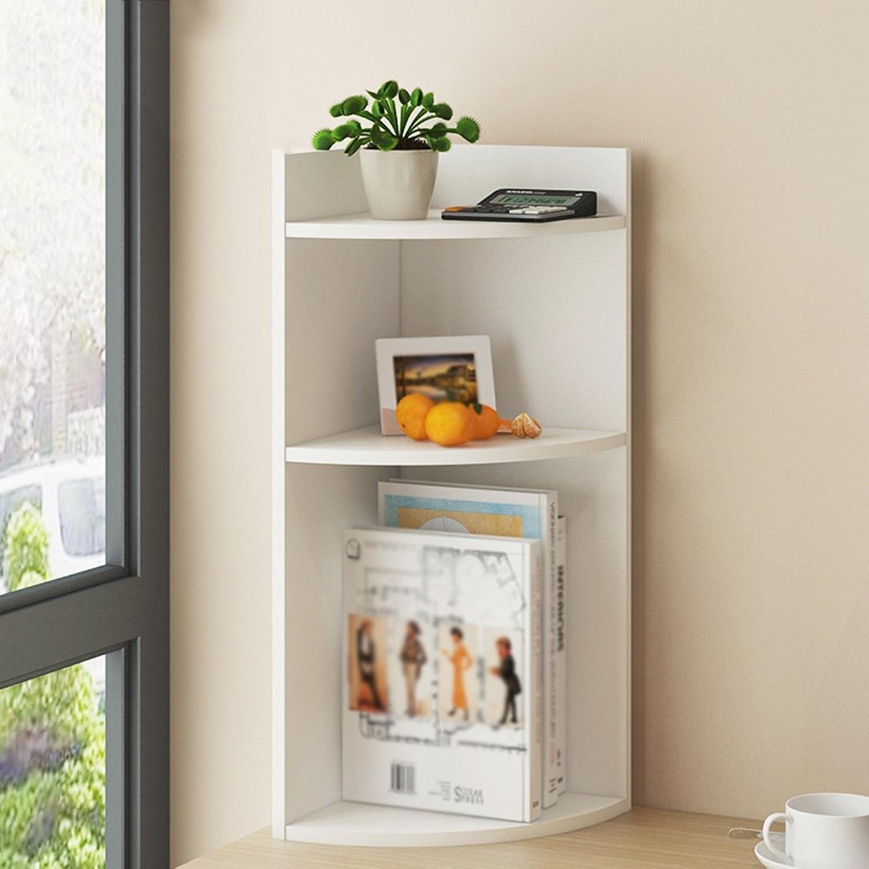 LQQGXLoffice Furniture Desk Shelf, Simple Combination Solid Wood Shelf Office Bookcase (Size   22.8  24  60cm)