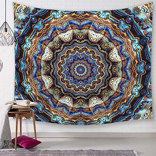 Morbuy Kreativ Tapisserie, Dekor Wandteppich Tapestry Farbgeometrie Motiv Wandbehang aus Polyster Wandtuch Tischdecke Yogamatte (Groß (150 x 200cm), 3D-Grafik)