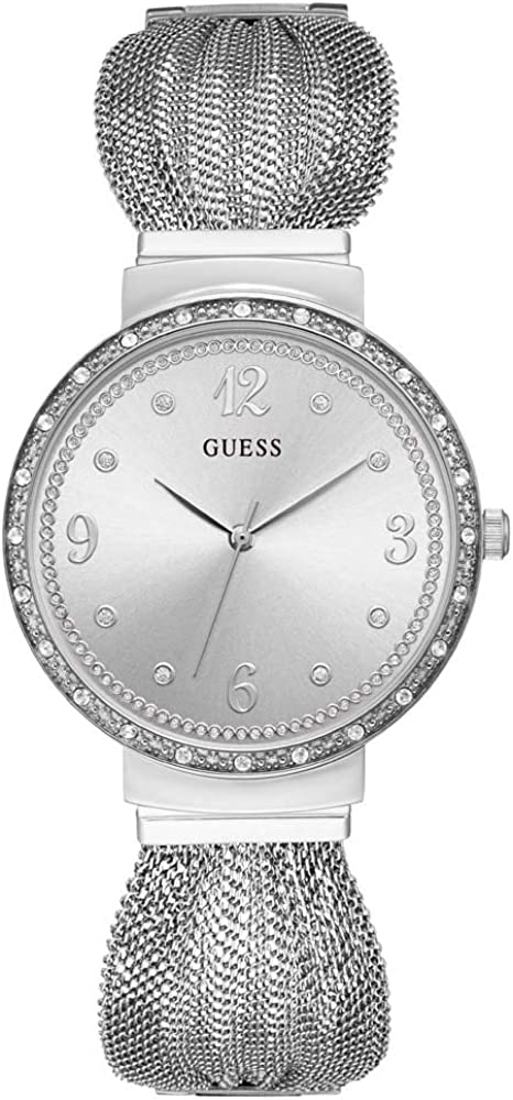 Guess, orologio analogico quarzo per donna  in acciaio 316  l e cristalli W1083L1