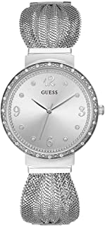 ساعة كوارتز للنساء من جيس بعرض انالوج وسوار ستانلس ستيل طراز W1083L1