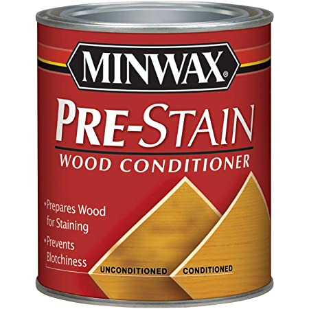 Minwax 61500444 Pre Stain Wood Conditioner, 1 Quart,Clear