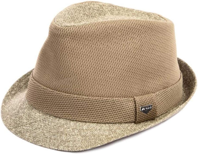 FH Sommer-Individualitt Strohhut Mode Hut Jazz Cap England Hut