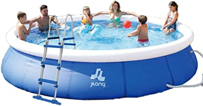 HEROTIGH Inflatable Pool Tub Play Oversized Inflatable Child Baby Inflatable Pool Swim Ring Pool Children Baby Family 360X90cm