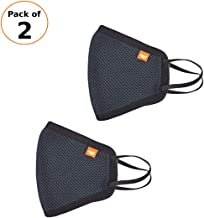 Wildcraft W-95 HypaShield Mask (Pack of 2) | Reusable 6-Layer Anti-Pollution Outdoor Masks