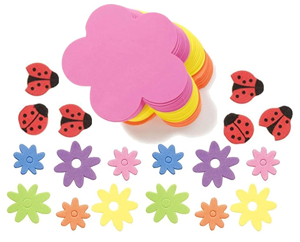 Jumbo Foam Flowers and Foam Stickers