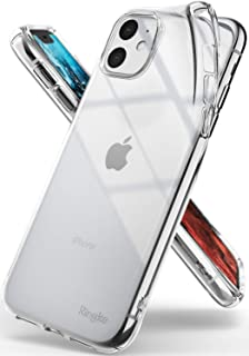 Ringke Air Compatible with iPhone 11 Case, Thin Flexible Shockproof TPU Phone Case - Clear