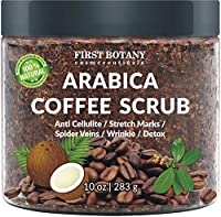 CELLULITE ENEMY: We combine best quality of organic coffee grounds with moisturizing, skin-soothing organic coconut oil and dead sea salt for an extra exfoliating kick. By massaging our organic anti cellulite coffee body scrub onto any problem area, ...