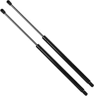 Rear Window Glass Lift Supports Shocks Gas Springs 4249 for 1997-2006 Jeep Wrangler W/Hardtop,Pack of 2