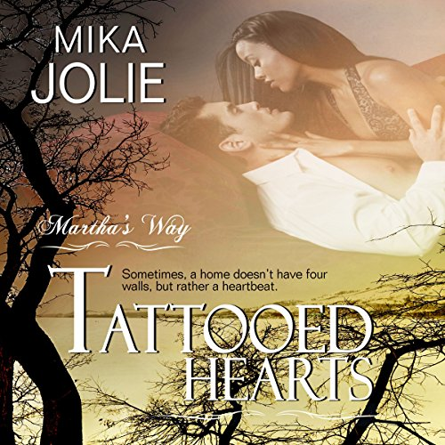 Tattooed Hearts audiobook cover art