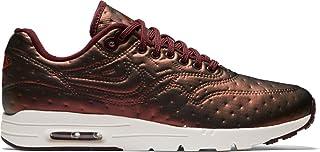 7664483ce NIKE W Air Max 1 Ultra Premium Jacquard Womens Sneaker Silver 861656 001  (7.5 B